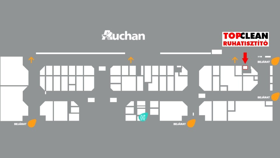 954a9cb403 Top Clean Pick up - Auchan Soroksár (M5) - Top Clean – Ametiszt ...